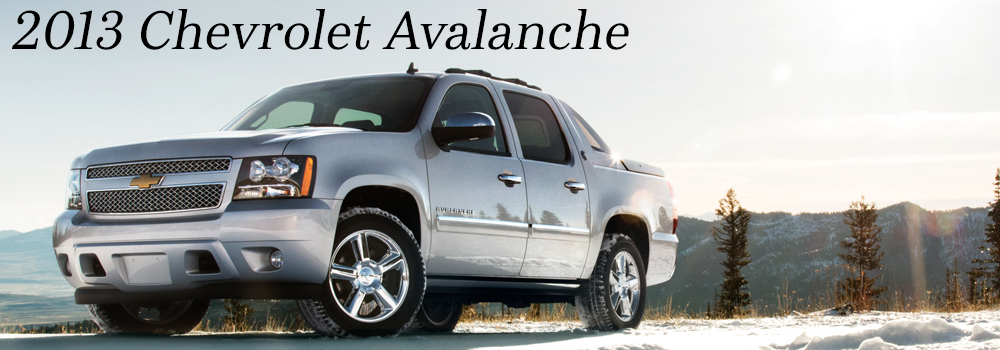 2013 Chevrolet Black Diamond Avalanche in the Albany, Clifton Park